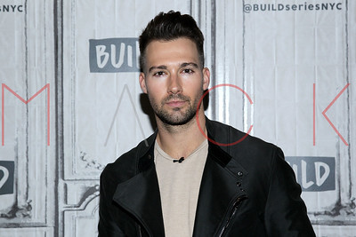 New York, NY - May 17:  BUILD Series Brunch Show with James Maslow, discussing his new music.