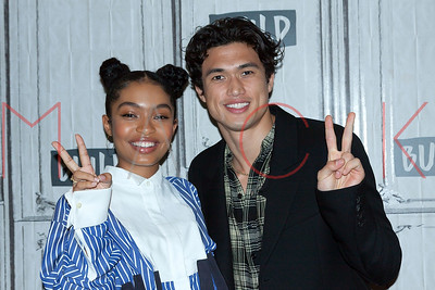 "New York, NY - May 16:  BUILD Series with Charles Melton and Yara Shahidi, discussing the new film ""The Sun Is Also a Star""."