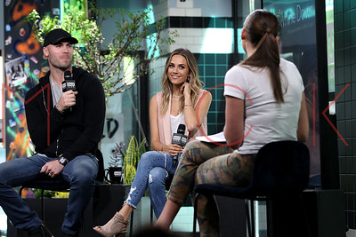 New York, NY - May 17:  BUILD Series with Jana Kramer and Mike Caussin, New York, USA.