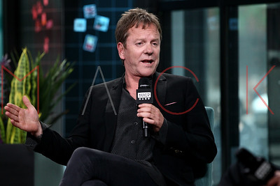 "New York, NY - May 09:  BUILD Series with Kiefer Sutherland, discussing the new season of ""Designated Survivor""."