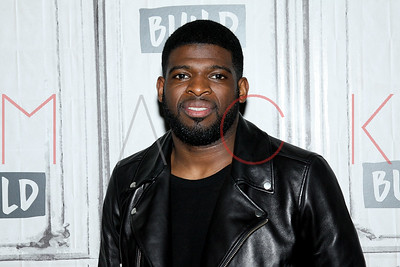"New York, NY - May 14:  BUILD Series with P.K. Subban, discussing ""The P.K. Project""."