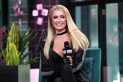 "New York, NY - May 15:  BUILD Series with Paris Hilton, discussing her single ""My Best Friend's Ass""."