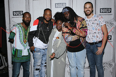 "New York, NY - May 06:  BUILD Series with the band, Tank and The Bangas, discussing their new album ""Green Balloon""."