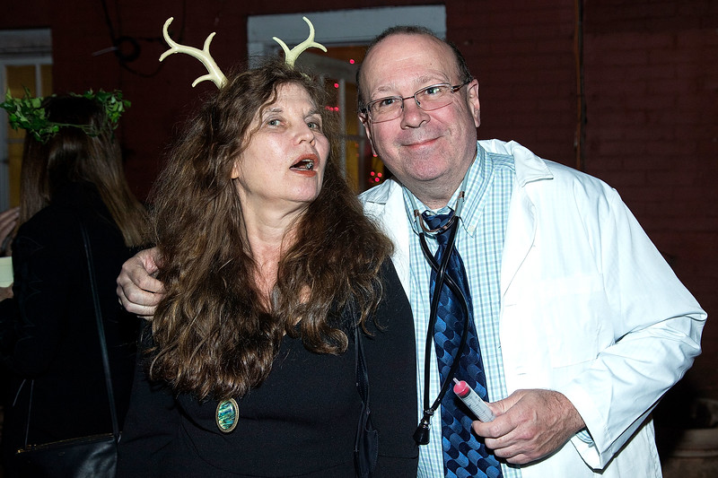 Frog & Peach Theatre Company Halloween Party and Auction, New York, USA