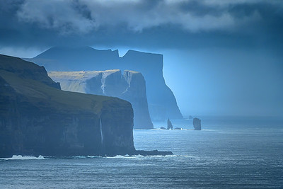 Blue Cliffs - Faroe Islands