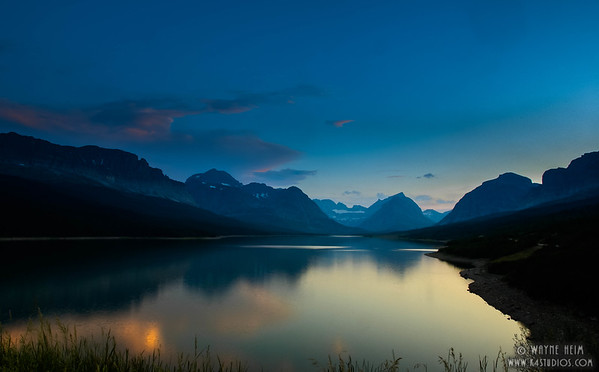 Evening Lake   Photography by Wayne Heim