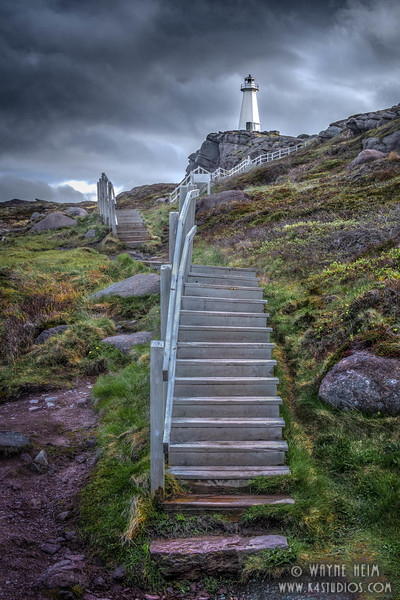 Stairs to the Lighthouse  Photography by Wayne Heim