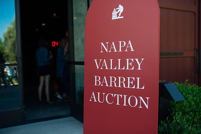 2019 Napa Valley Barrel Auction at Louis M. Martini Winery