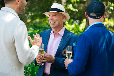Past Napa Valley Vintners Board of Director Chair Michael Mondavi at the 2019 Live Auction Celebration