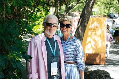 Bill and Deborah Harlan of Harlan Estate at the 2019 Live Auction Celebration