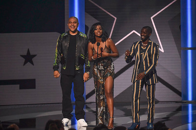 LOS ANGELES - JUNE 23:  2019 BET Awards at Microsoft Theater on June 23, 2019 in Los Angeles, CA, USA.  (Photo by : Aaron J. /  RedCarpetImages.net)