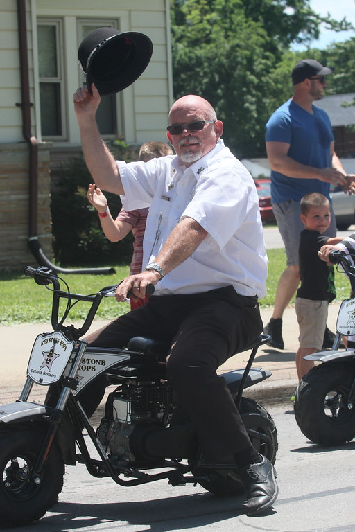. Numerous groups, businesses and other organizations marched along Green Street June 23 in the 2019 Bay-Rama Fishfly Festival Parade.