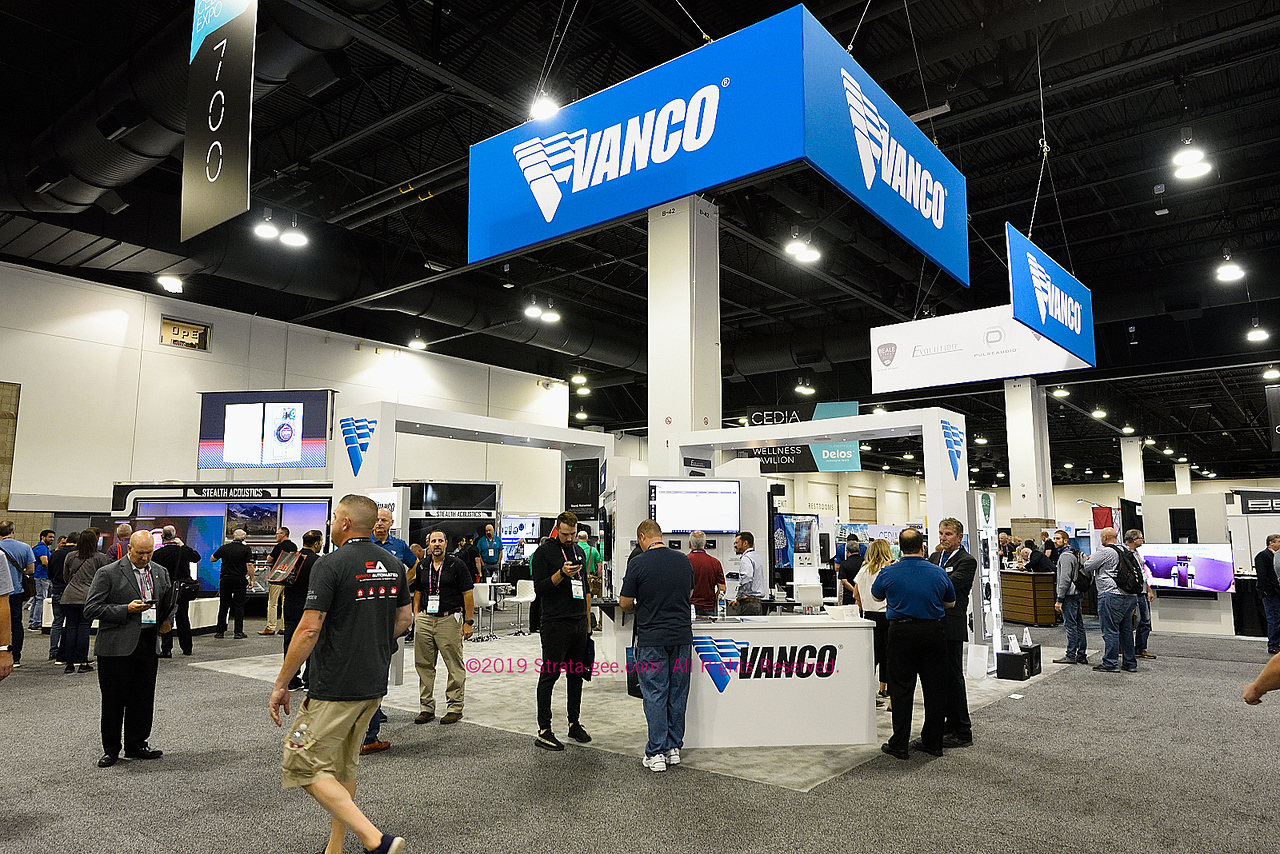 Vanco booth at CEDIA Expo 2019