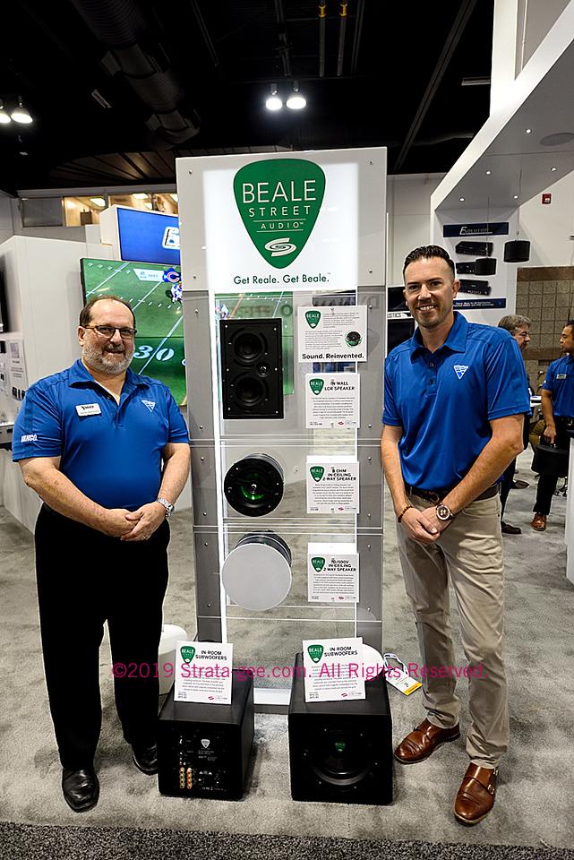 Executives show new Beale Street Audio models at CEDIA Expo 2019