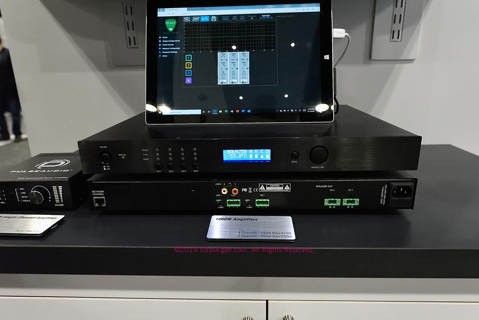 New Beale Street Audio IP addressable amplifiers