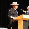 Deputy Sheriff Matthew Kraisky addresses the audience.
