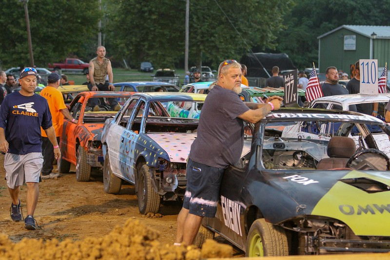 2019 Clarke County Fair Demo Derby