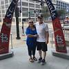 St. Louis Cardinal Arch, Bush Stadium, St. Louis, MO