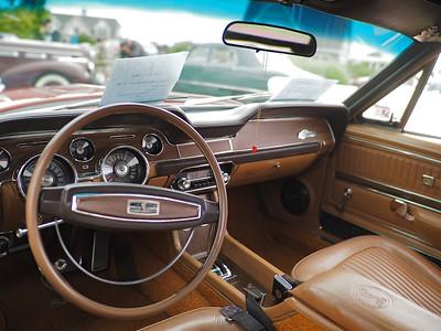 1968 Shelby GT500 - interior