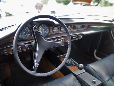 1971 Volvo 1800E - interior