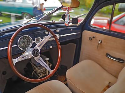 1961 VW Beetle Deluxe - Interior