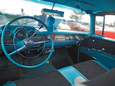 1957 Chevy Bel Air - interior