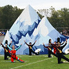 "Roger Schneider | The Goshen News<br /> Members of the Jimtown band perform their ""Moving Mountains"" show Saturday at Concord High School."