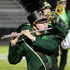 "Roger Schneider | The Goshen News<br /> A Northridge flute player performs during the band's ""Puzzle Pieces"" show."
