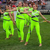 Roger Schneider | The Goshen News<br /> Members of the Wawasee color guard perform together Saturday at Concord High School.