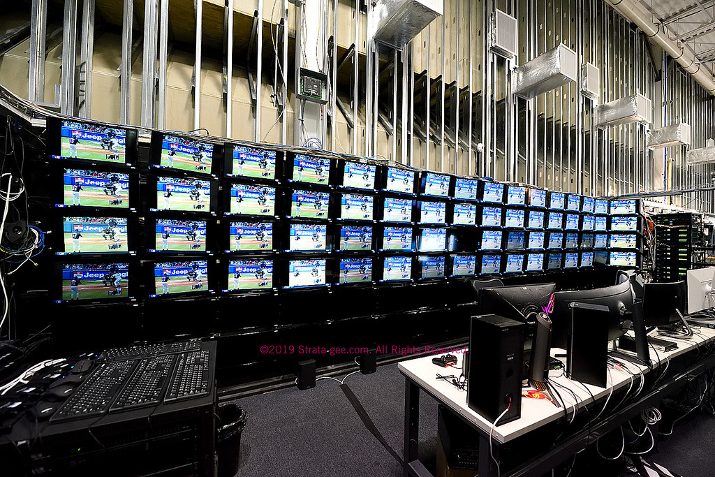 Large scale video distribution system testing