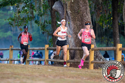 University of Tampa competes in the FSU Cross Country Invitational at Apalachee Regional Park in Tallahassee, FL on Friday, Oct. 11, 2019. (Photo by Taylor Jones)
