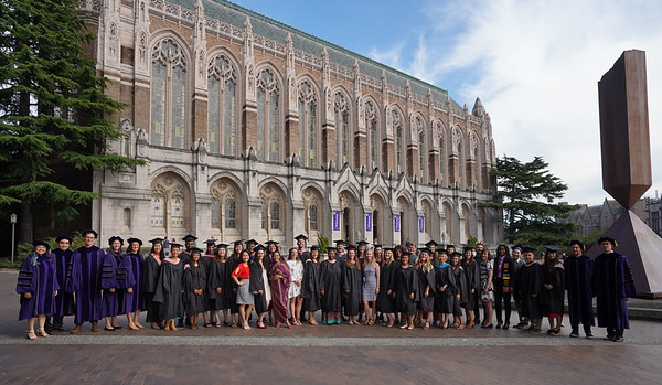 The UW Department of Global Health Graduation Celebration at Kane Hall on June 12, 2019.   Photo by Marcus Donner copyright 2019.