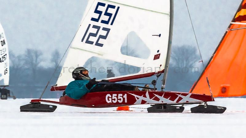 Christian Seegers   G 551   Gold  Fleet