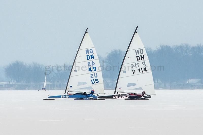 C 20 (US 49) - Rasmus Maalin &                                  P 114 (US 5352) Michal Burczynski - Gold Fleet