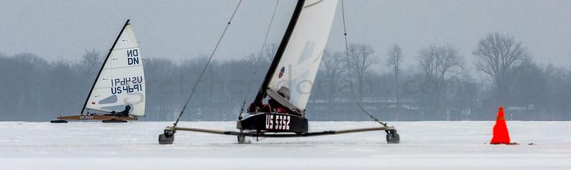 Michal Burczynski P 114  | 1st Gold Fleet. John Dennis US 4691 | Gold Fleet