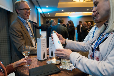 Networking after hours at NRFtech 2019
