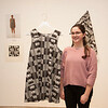 """Interconnect"" collaborative art show featuring Design Department, Fashion Design and Eckert Herbarium in Czurles-Nelson Gallery at Buffalo State College."