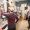 Smart grid lab in Engineering Technology Department at Buffalo State College.