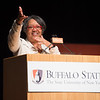 President Katherine Conway-Turner speaking at the Educational Opportunity Program (EOP) Honors Convocation at Buffalo State College.
