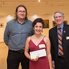 Arts and Humanities Dean's Entrepreneurship Awards ceremony in the Czurles-Nelson Gallery at Buffalo State College.