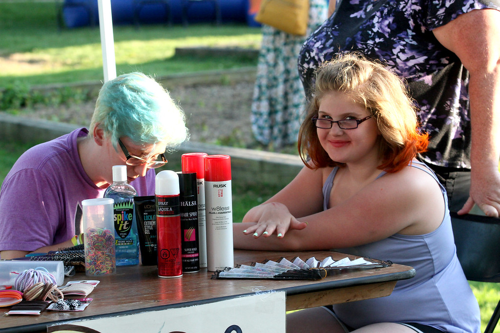 . Immaculate Conception Catholic Church hosted its Family Fun & Perch Festival July 11 to 14 in Ira Township. (Photos by Dave Angell)
