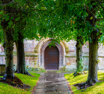 Church Door - Highworth England