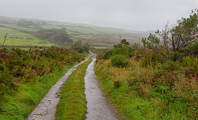 Country Road - Cornwall England