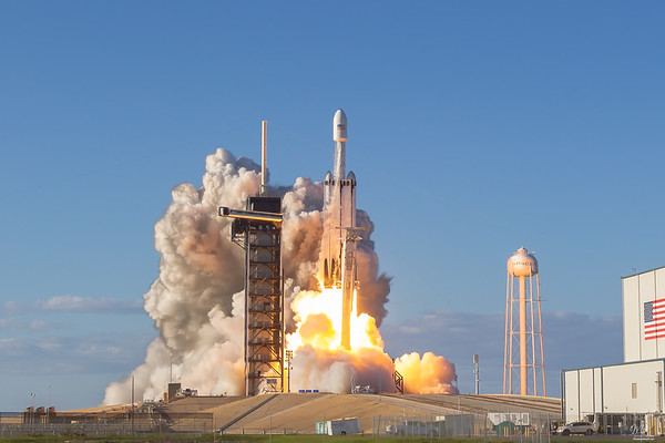 ArabSat6a Falcon Heavy by SpaceX