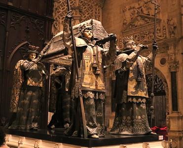 DA093,DP,Tomb of Columbus Seville Spain
