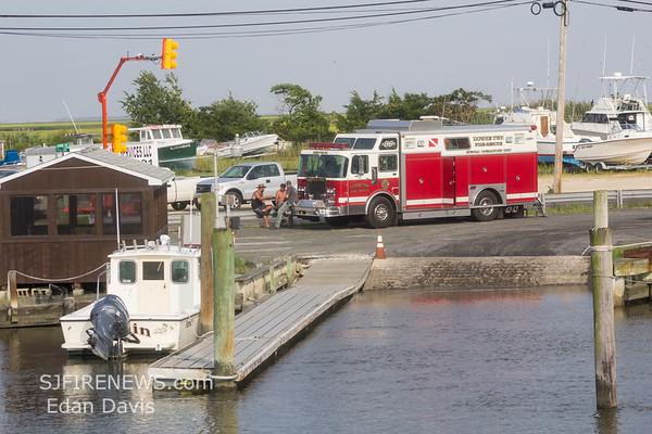 07-29-2019, Swift Water Rescue Training, Delaware Bay, Miah Maul Lighthouse, (C) Edan Davis, www sjfirenews (1)