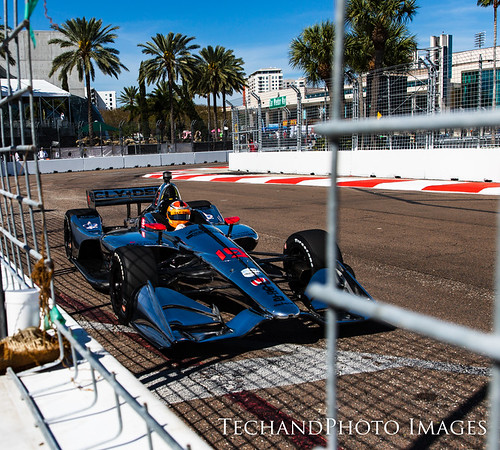 friday at the Firestone Grand Prix of St Petersburg