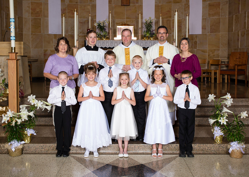2019 St Meinrad First Communion 5x7