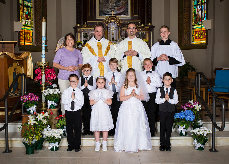 2019 St Boniface First Communion 5x7