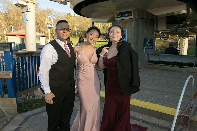 Scenes from the Fitchburg High School Prom at Wachusett Mountain Ski Area, May 11, 2019. SENTINEL & ENTERPRISE/JOHN LOVE